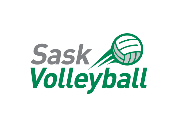Logo - Sask Volleyball