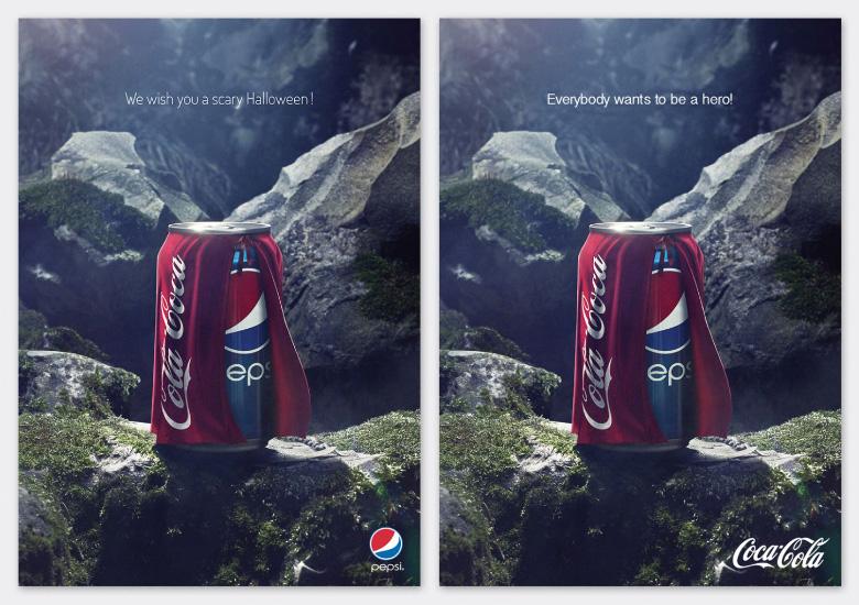Pepsi Halloween Ad - Coke Edit