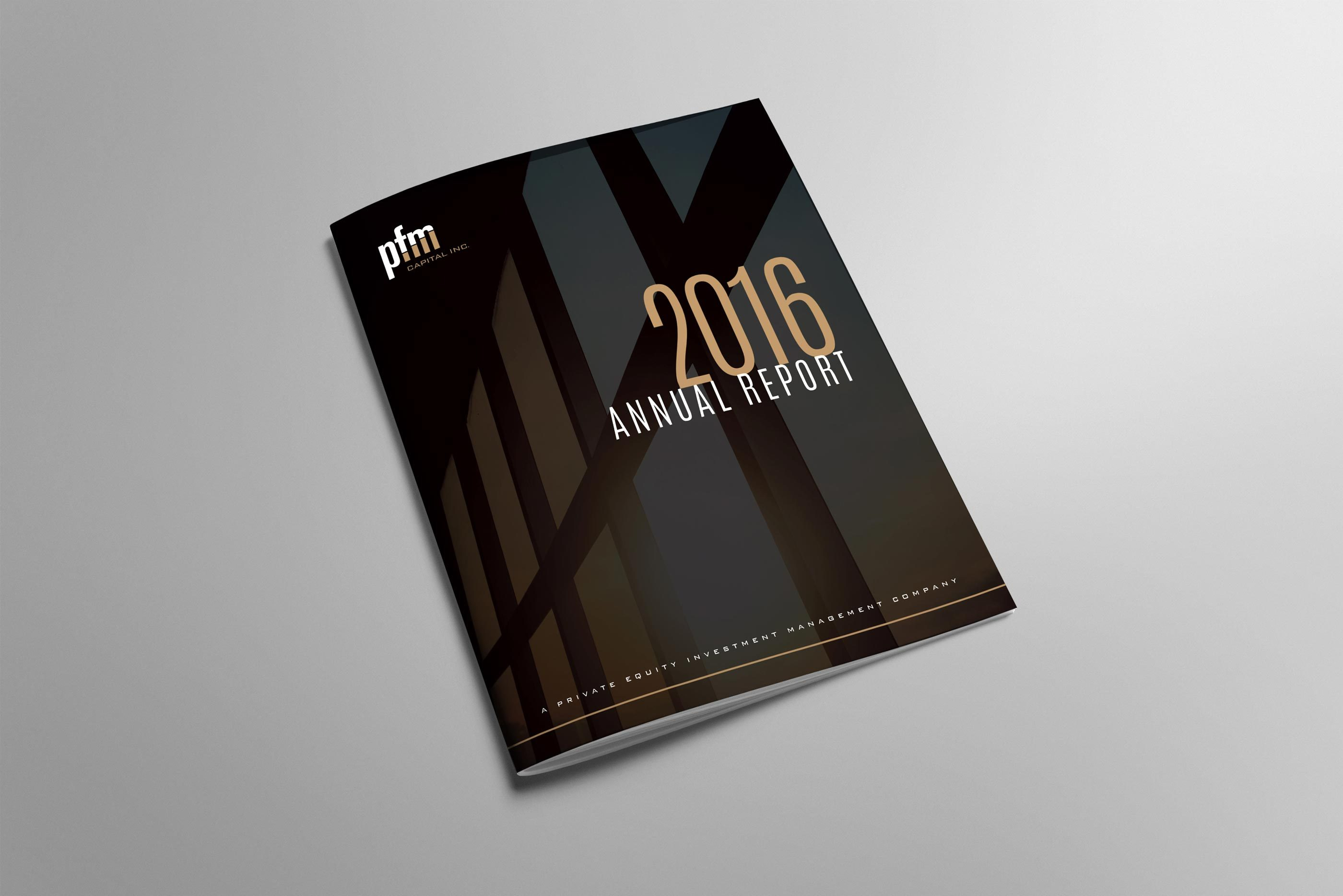 Work - PFM Annual Report
