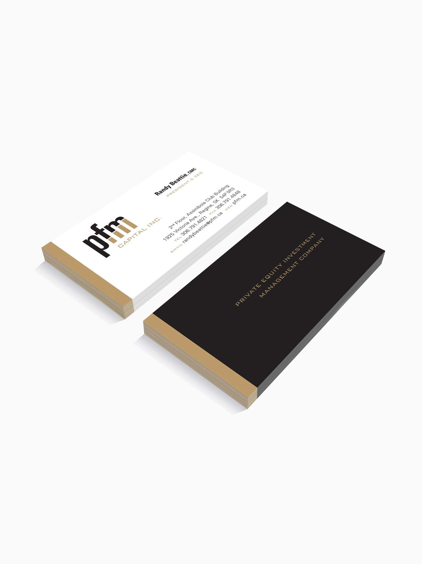 Work - PFM Business Cards