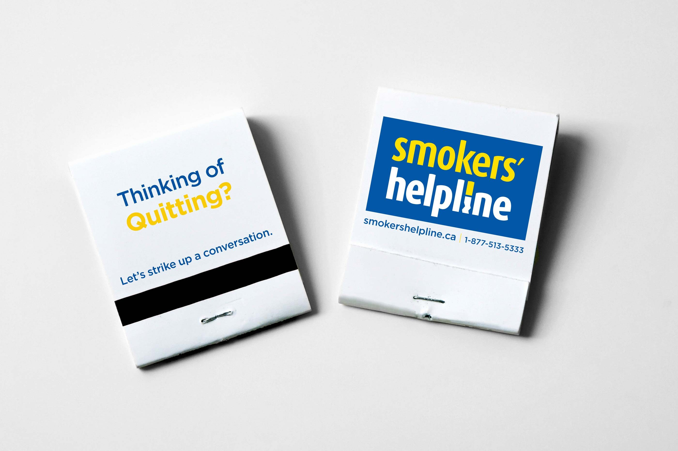 Work - Smokers' Helpline Matches