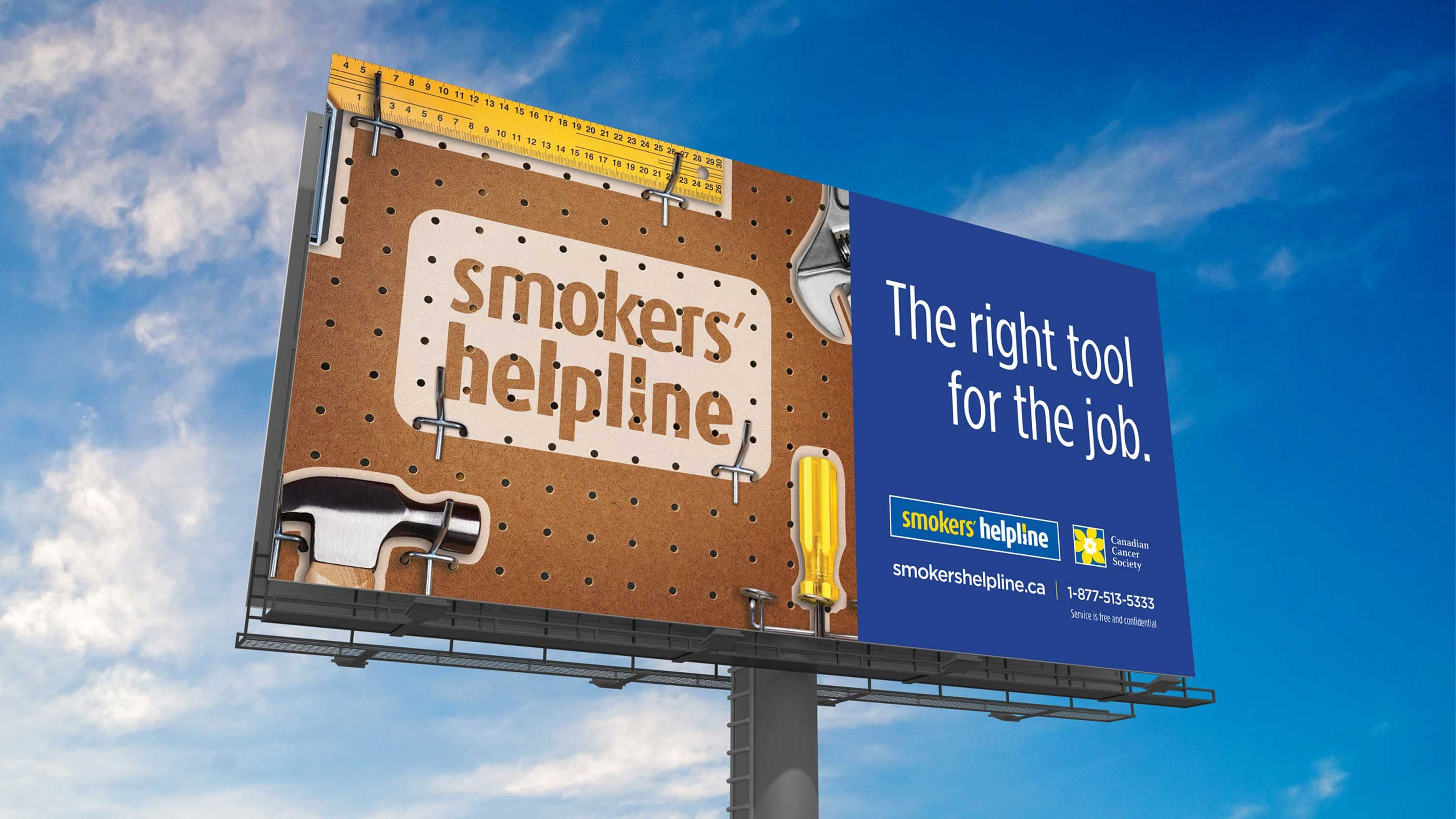 Work - Smokers' Helpline Outdoor