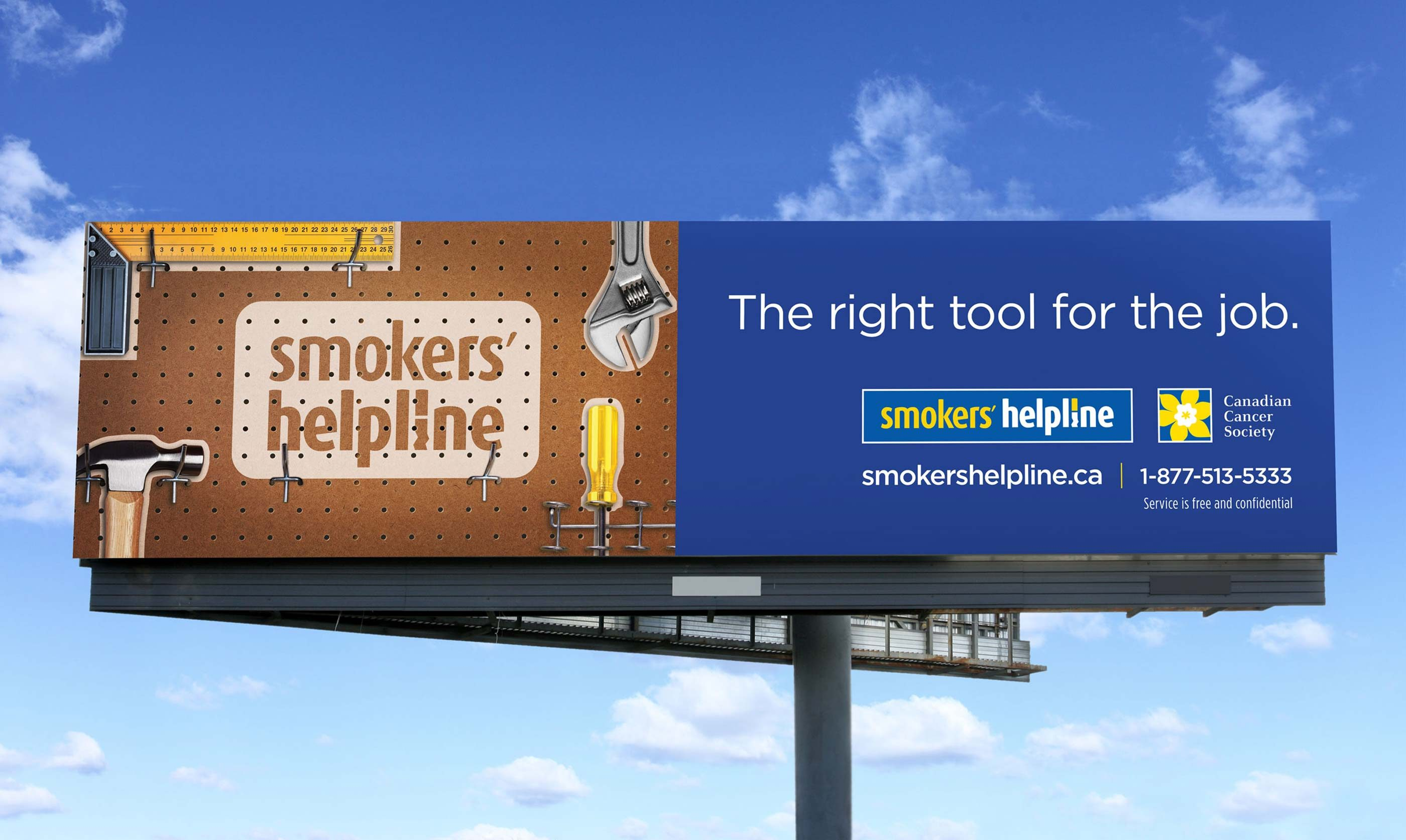 Work - Smokers' Helpline Superboard