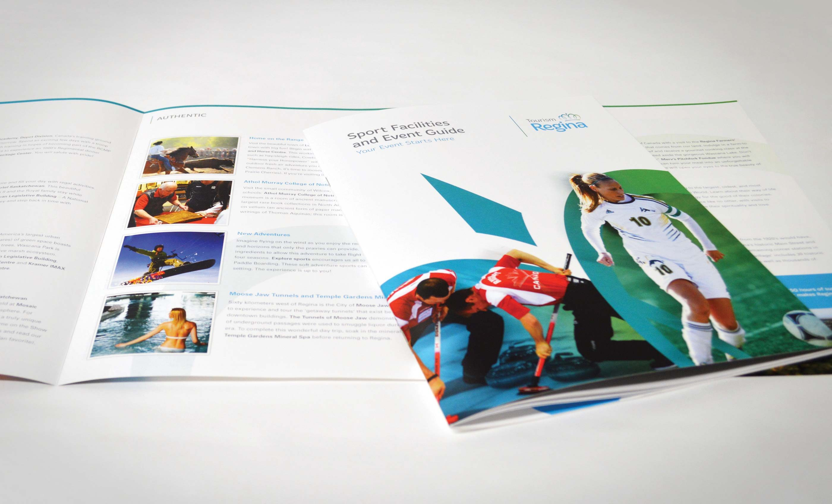 Work - Tourism Regina Brochure