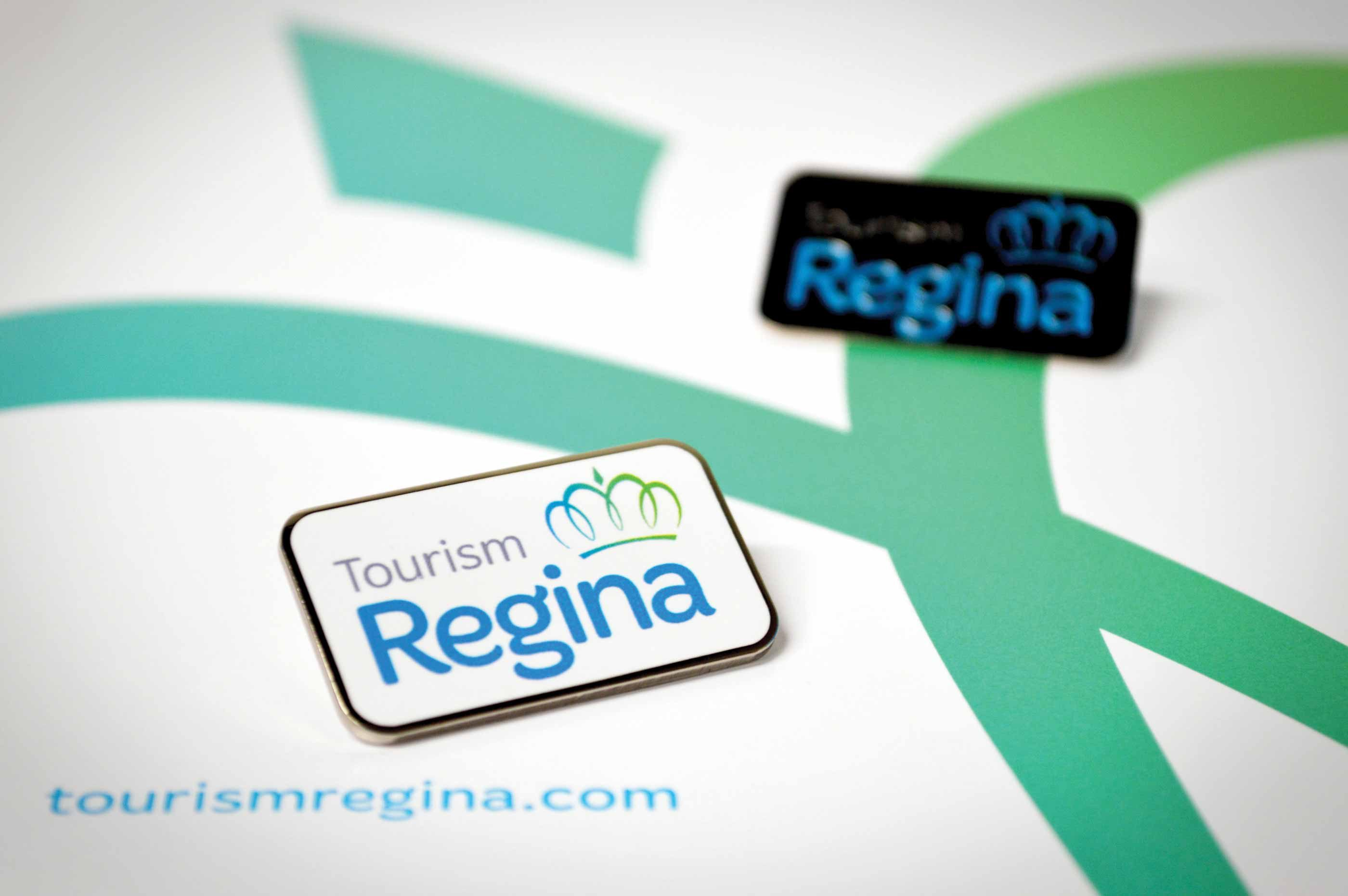 Work - Tourism Regina Pins