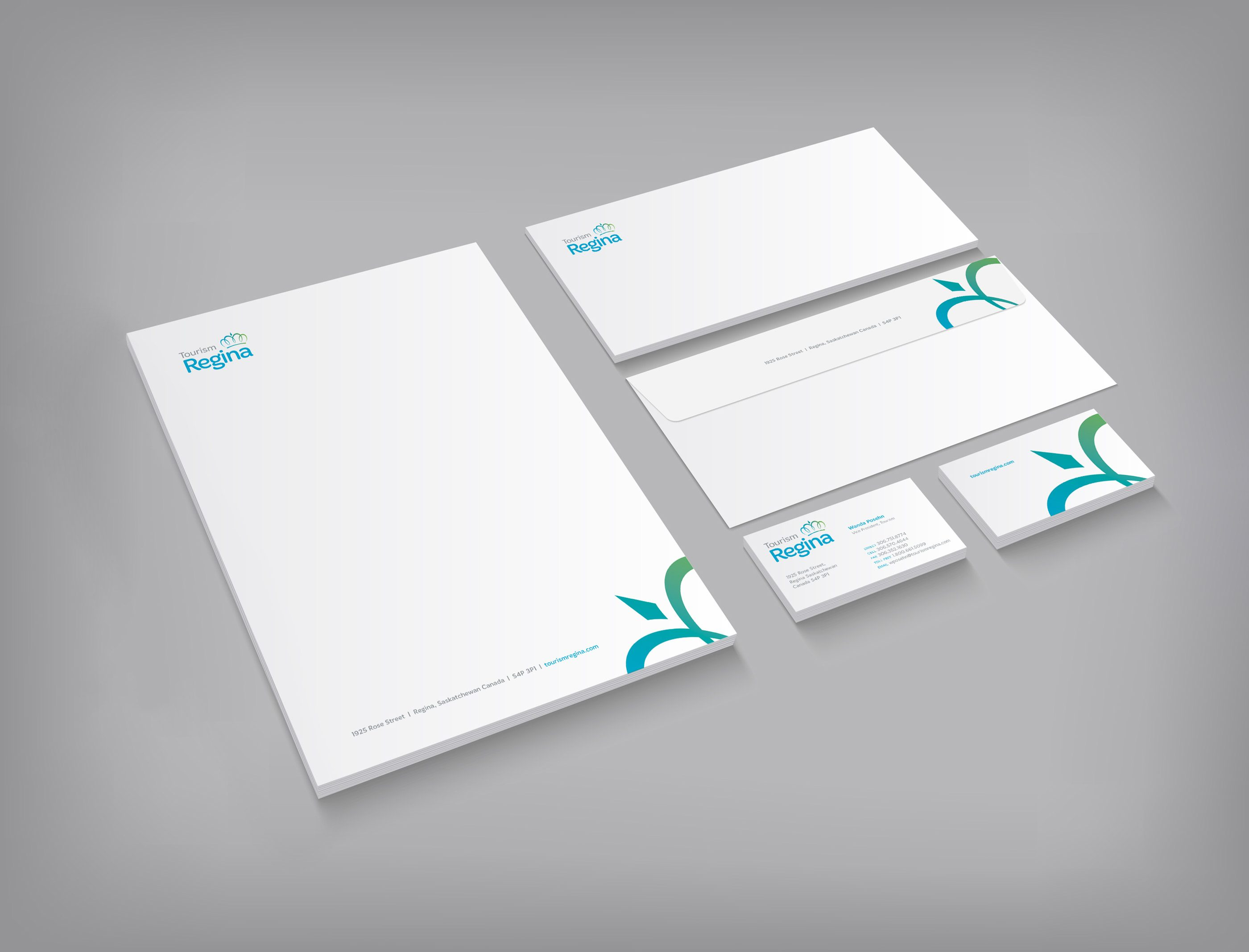 Work - Tourism Regina Stationary