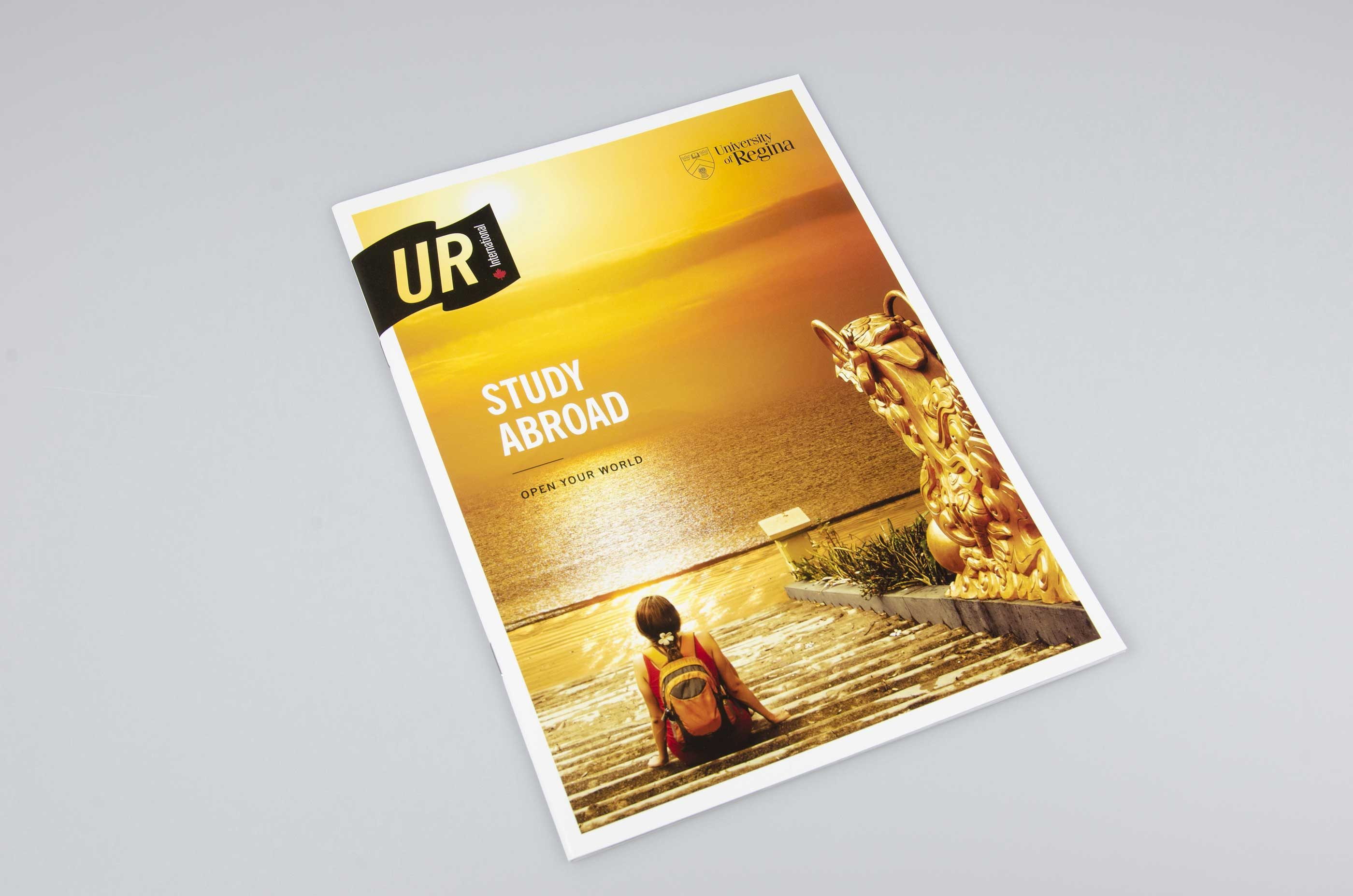 Work - UR International Study Abroad Booklet Cover