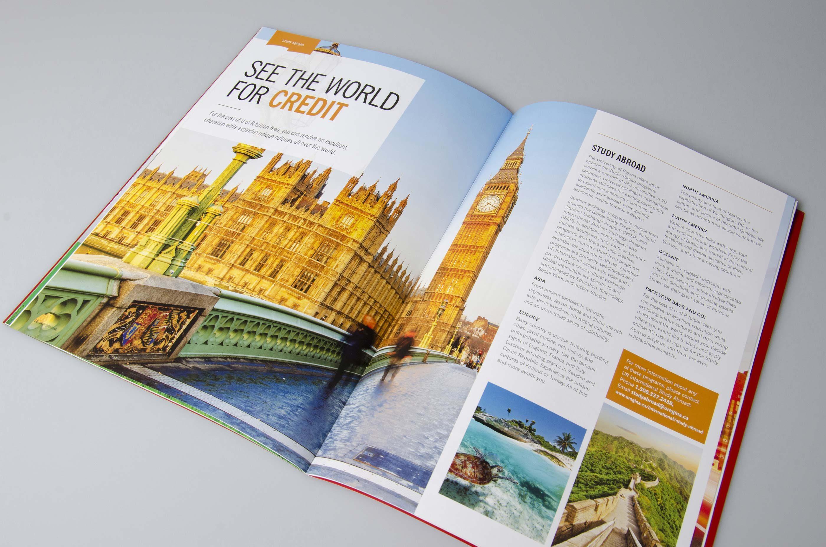 Work - UR International Viewbook