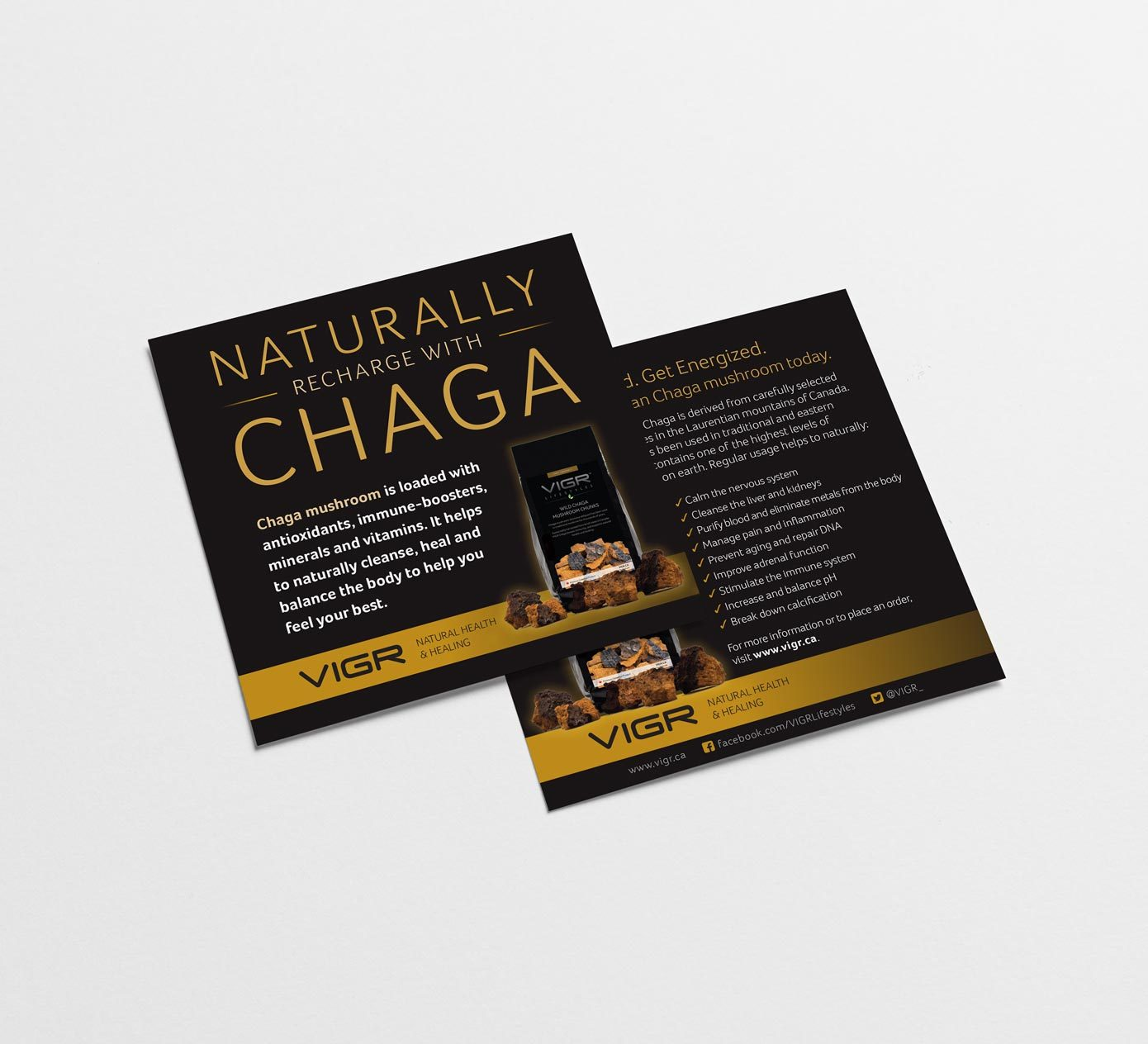 Work - VIGR Chage Flyer