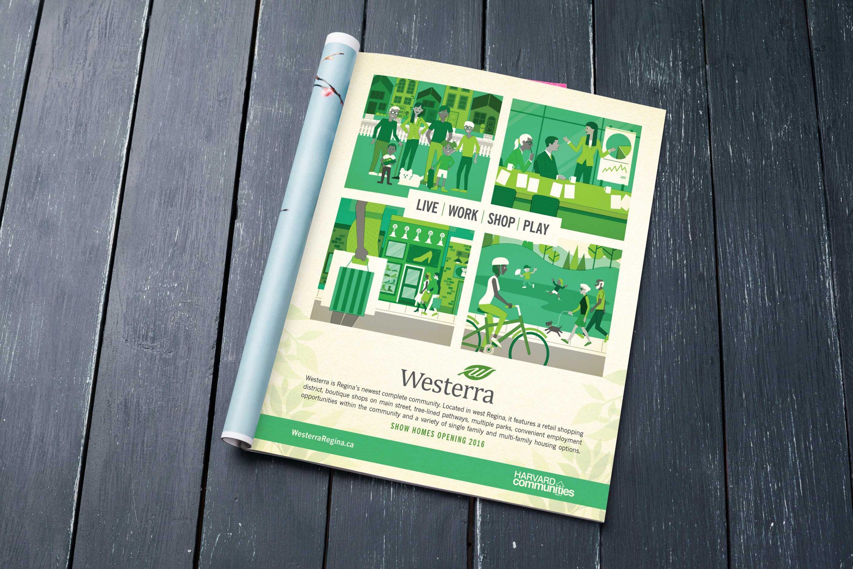Work - Westerra Magazine Ad