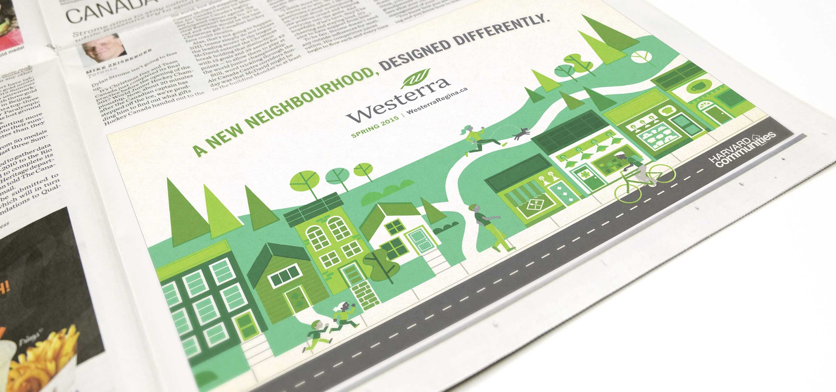 Work - Westerra Newspaper Ad General