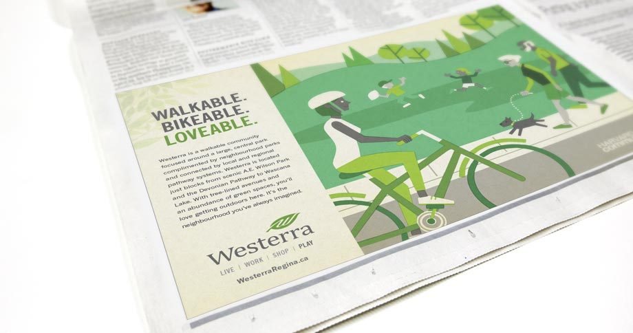 Work - Westerra Newspaper Ad Play