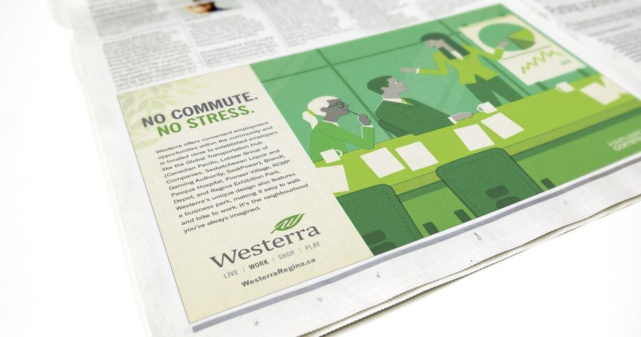 Work - Westerra Newspaper Ad Work